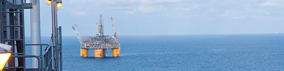 Mars B tension leg platform (TLP), deep-water oil field in the Gulf of Mexico