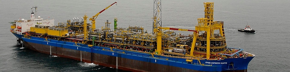 Espirito Santo, the floating production, storage and offloading (FPSO) vessel for Parque das Conchas