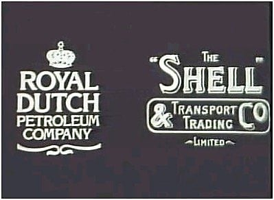 Original Royal Dutch Petroleum Company and Shell Transport and Trading logo's