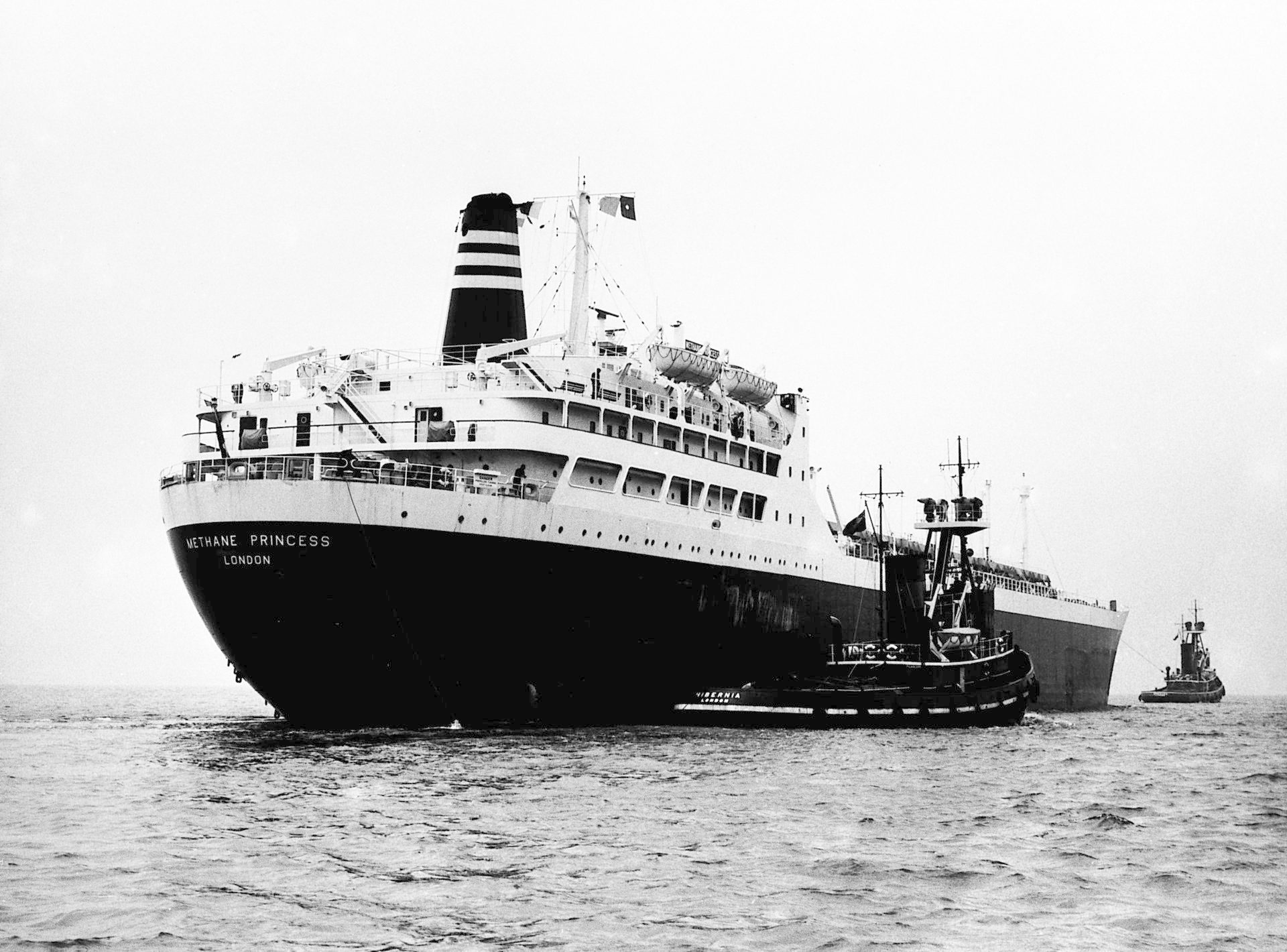 The first consignment of liquefied natural gas was shipped in 1964 from Algeria in the SS Methane Princess.
