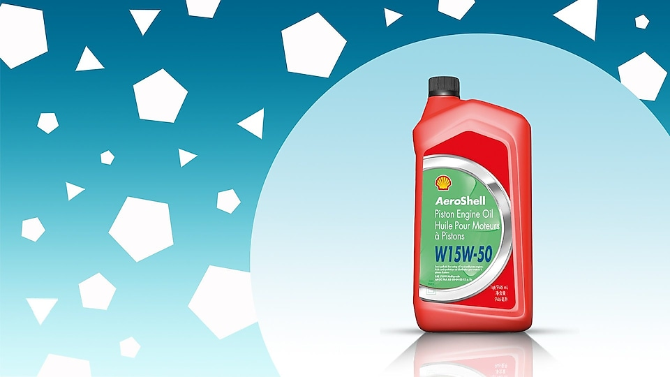 AeroShell W15W50 cold-protection oil for winter weather