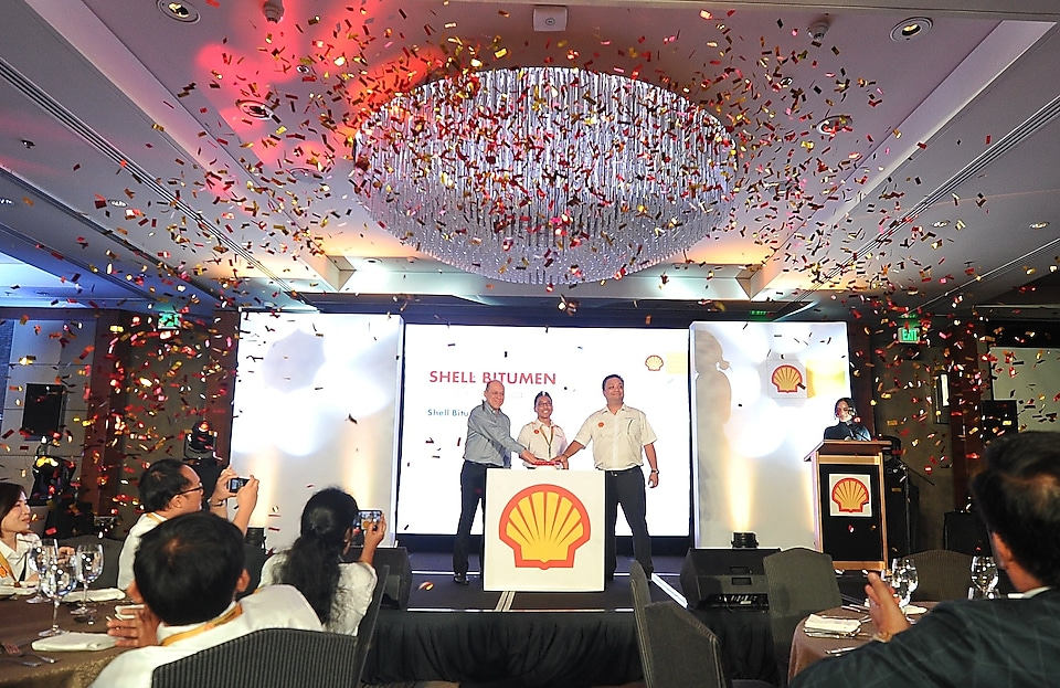 Shell Bitumen Inauguration