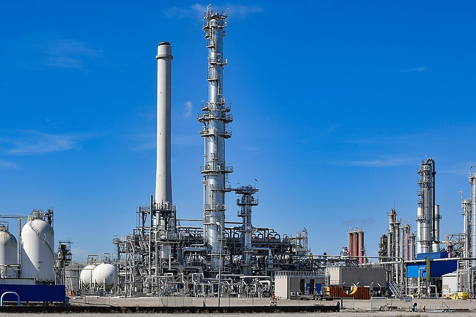Shell's new aromatics unit at Pernis Refinery for media