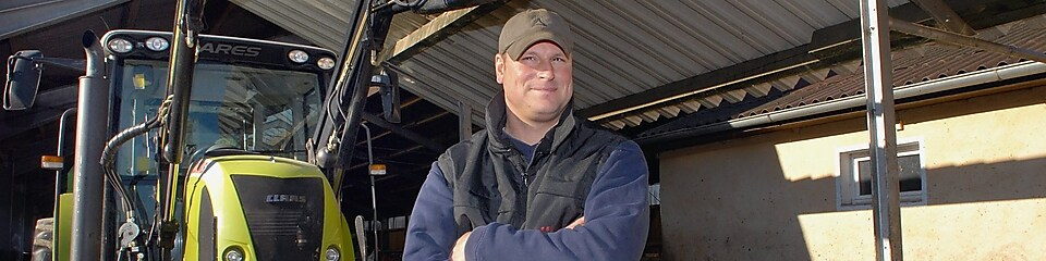 Rainer Buckel, Owner of Buckel Farm