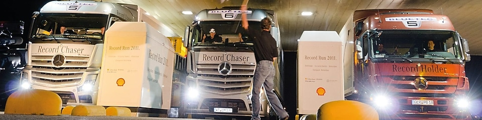 World record with Daimler