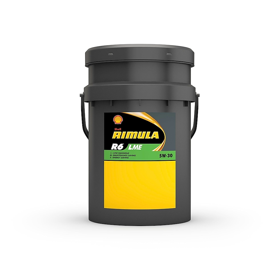 Heavy-duty diesel engine oils, Shell Rimula