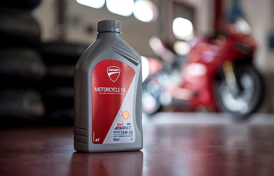 Shell Ducati Motorcycle Oil