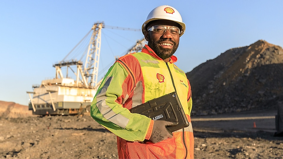 Shell Mining expert and Mining Dragline Excavator
