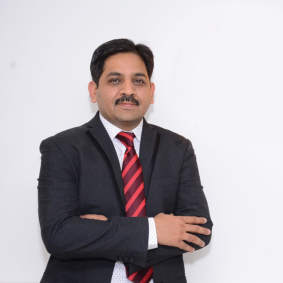 A headshot image of Praveen Nagpal, Cluster Technical Manager, Shell India