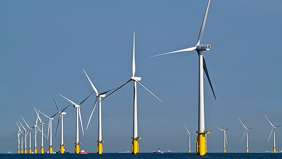 Offshore Wind Farm in Kent, United Kingdom