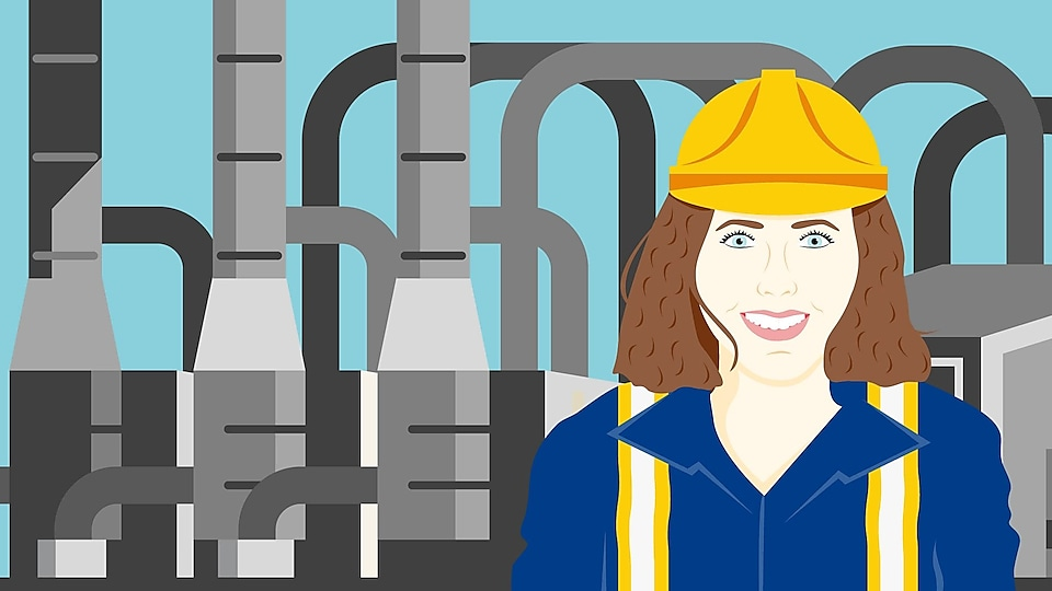 Erin started her career in Shell Canada as an Operations Engineer in the field