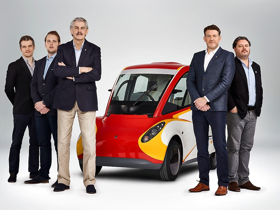 Shell Concept Car collaboration with Gordon Murray Design and Geo Technology
