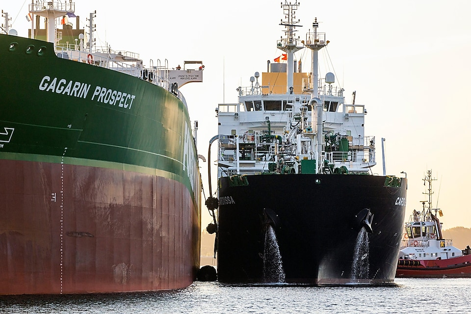 Shell and Sovcomflot LNG bunkering marks number of firsts