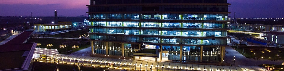 Shell Technology Centre Bangalore at night