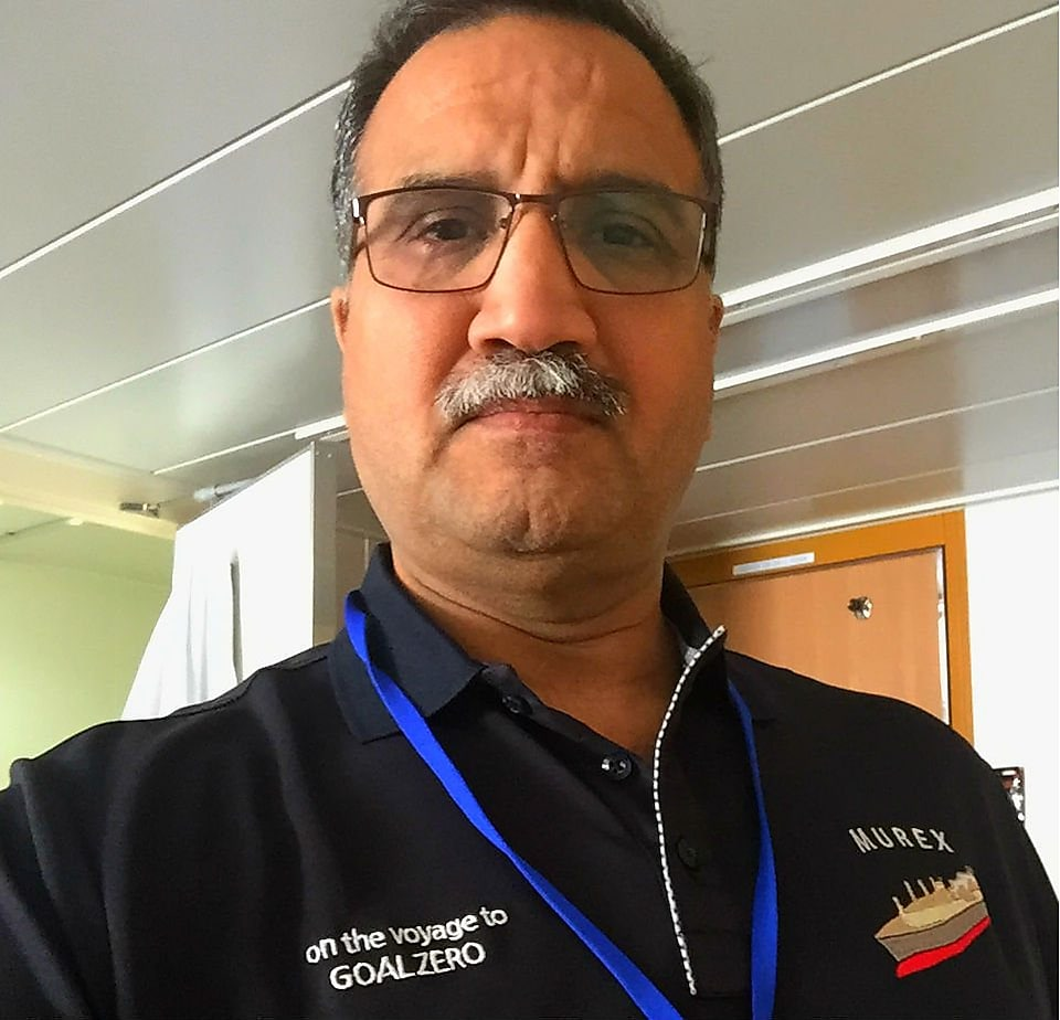 Naeem Ashgar, captain of the 2017 Murex ship