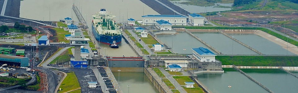 Panama Canal opens shortcut for natural gas