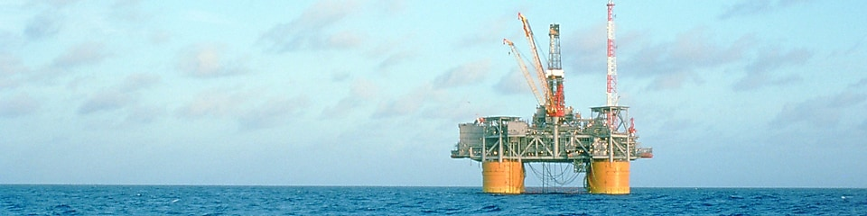 Shell's deepwater project, Auger, in the Gulf of Mexico