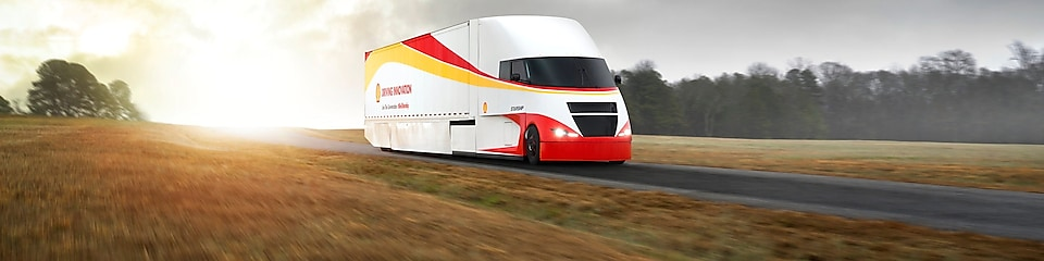 The Shell Starship truck