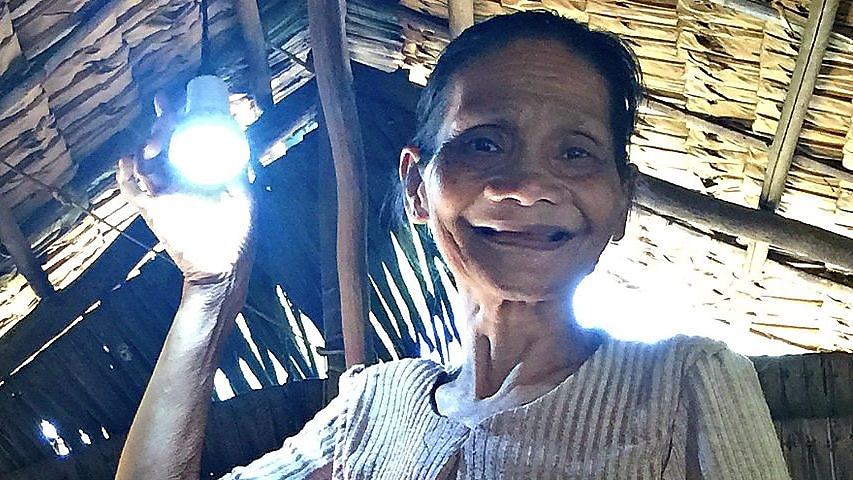 Switching on lights for one of the Philippines' oldest tribes