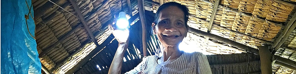 Watch how a local energy project helped the Batak people to light up their homes for the first time.