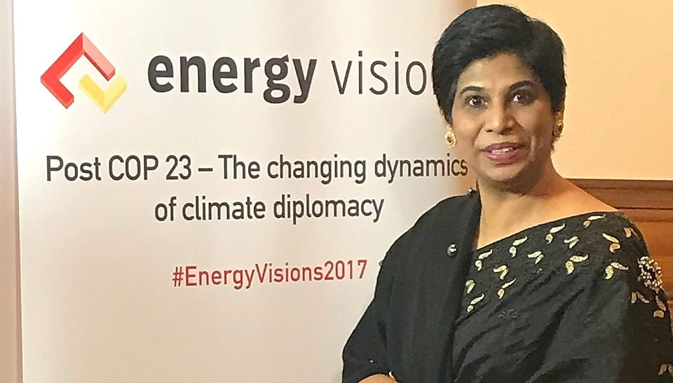 Nazhat Shameem Khan - Chief Negotiator for COP23, a United Nations climate change conference in Germany