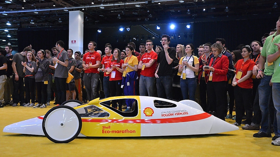 Shell Prototype at Opening Ceremony