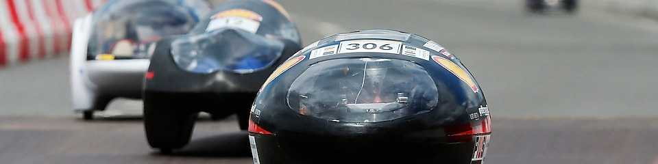 Cars on track at Shell Eco-marathon Europe