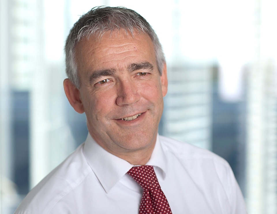 Chief financial officer Simon Henry