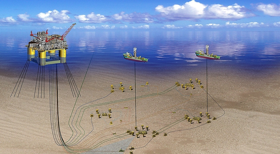Appomattox deep-water project - illustration