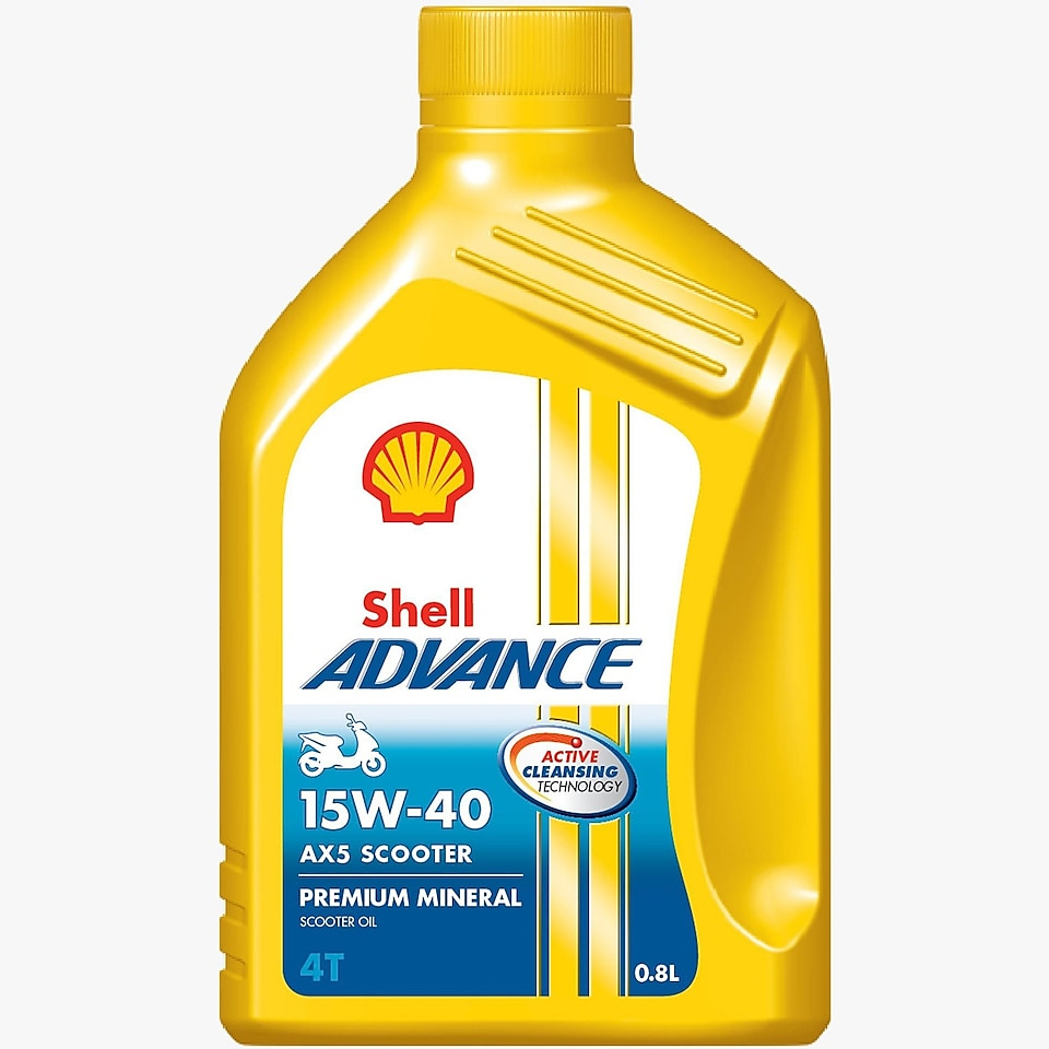 Shell Advance AX5 scooter oil
