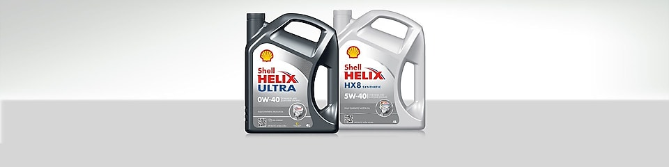 Shell Helix Fully Synthetic Motor Oils range