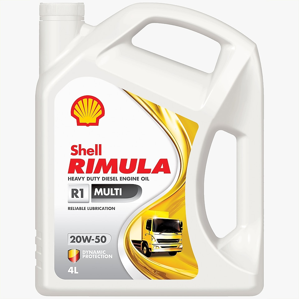Shell Rimula R1 Multi 4L Pack
