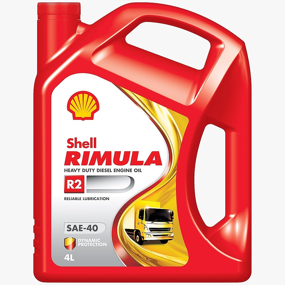 Shell Rimula R2 40 4L Pack