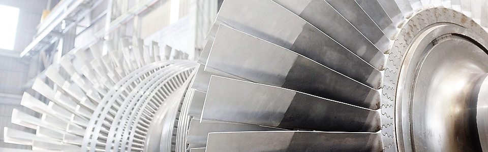 power turbine metal