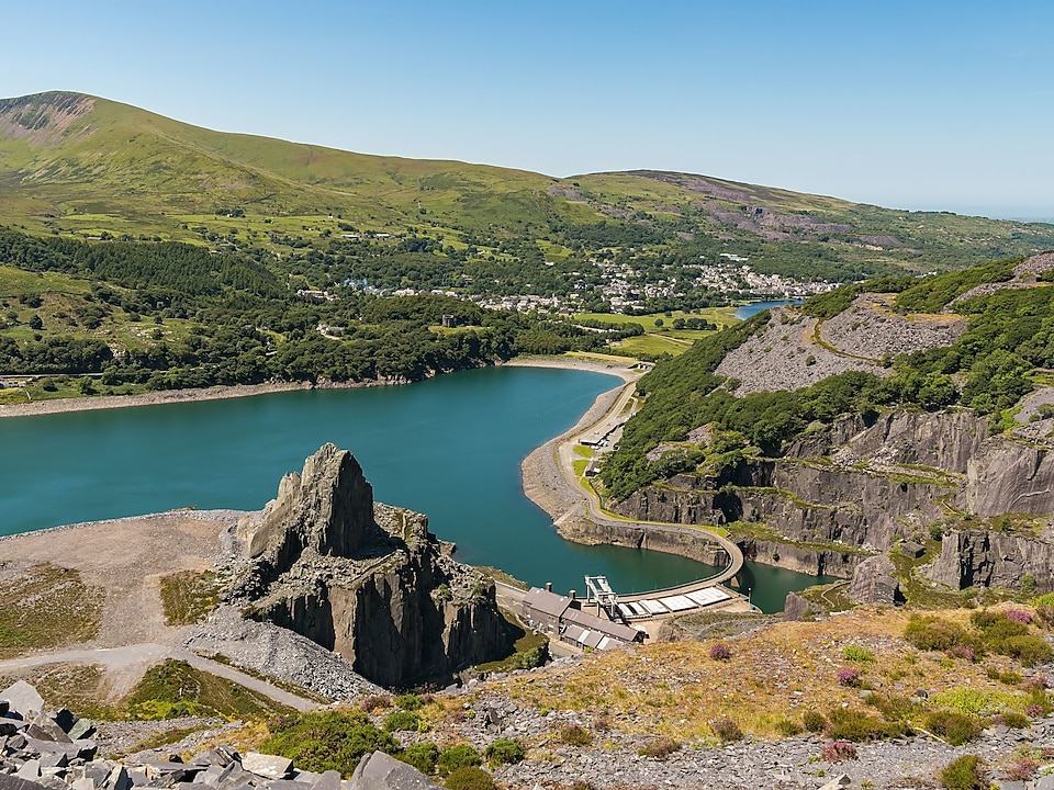 Dinorwig Power Station, North Wales