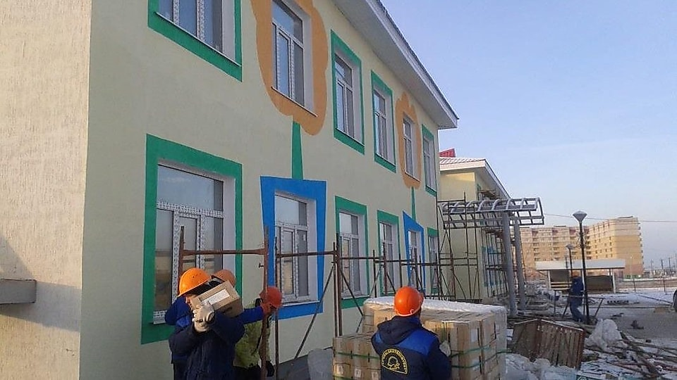 The new kindergarten in Aratlal